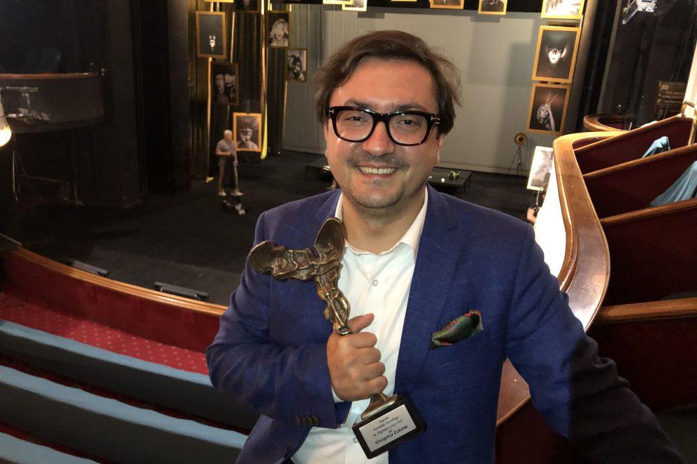 Nagroda Dziennika Teatralnego dla Grzegorza Eckerta